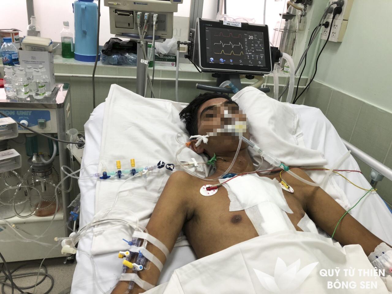 Kỳ 395: Phạm Ngọc Vũ (sinh năm 1997) quê Bình Định, bệnh tim, hỗ trợ 12 triệu đồng ngày 30/11/2018