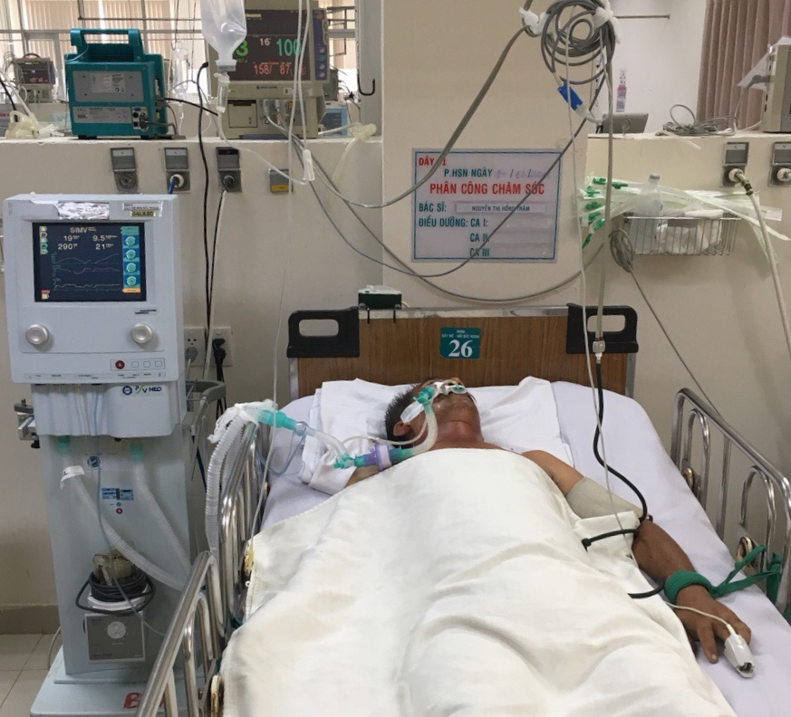 Kỳ 400: Nguyễn Văn Là (sinh năm 1964) quê Long An, xuất huyết não, hỗ trợ 10 triệu đồng ngày 15/01/2019