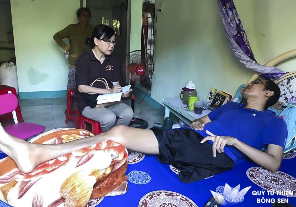 Kỳ 401: Hán Văn Vượt, 30 tuổi, quê Ninh Thuận, ung thư xương, hỗ trợ 20 triệu đồng ngày 26/02/2019
