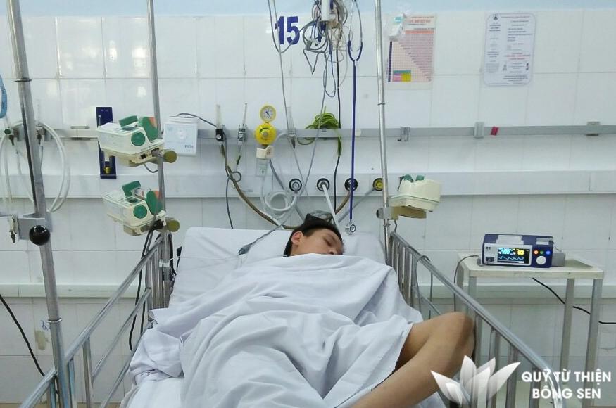 Kỳ 404: Dương Minh Kiệt (15 tuổi) quê TPHCM, viêm cơ tim, hỗ trợ 12 triệu đồng ngày 12/03/2019