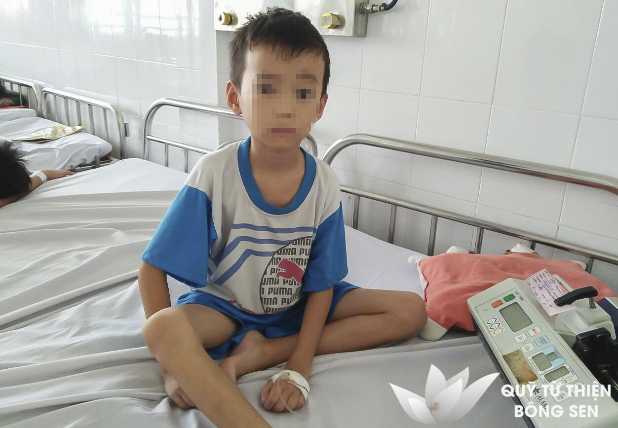 Kỳ 418: Nguyễn Duy Quang (7 tuổi) quê TP.HCM, u tuyến mang tai, hỗ trợ 15 triệu đồng ngày 24/06/2019