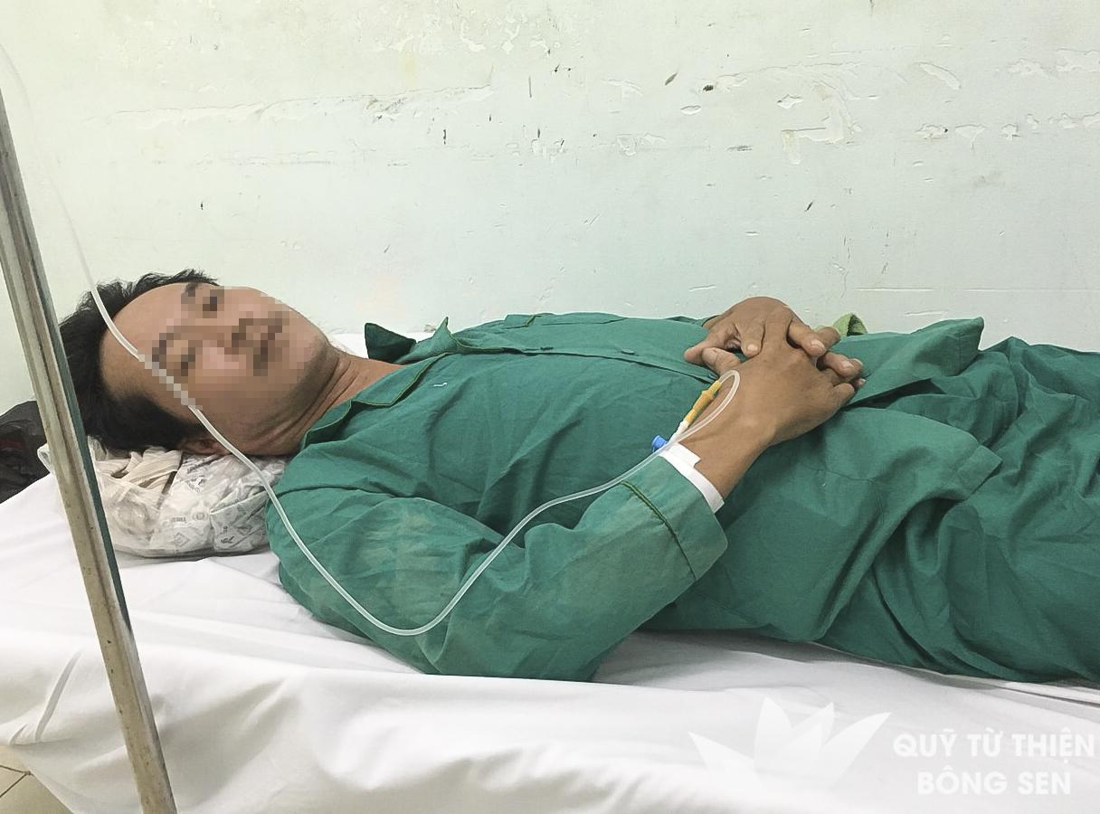 Kỳ 420: Nguyễn Văn Điều (sinh năm 1974) quê Đồng Tháp, viêm mô tế bào chân phải, hỗ trợ 10.500.000 đồng ngày 26/06/2019