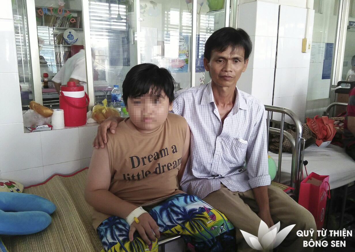 Kỳ 422: Huỳnh Nhật Hào (12 tuổi), quê Tây Ninh, u xơ vòm họng, hỗ trợ 20 triệu đồng ngày 12/07/2019