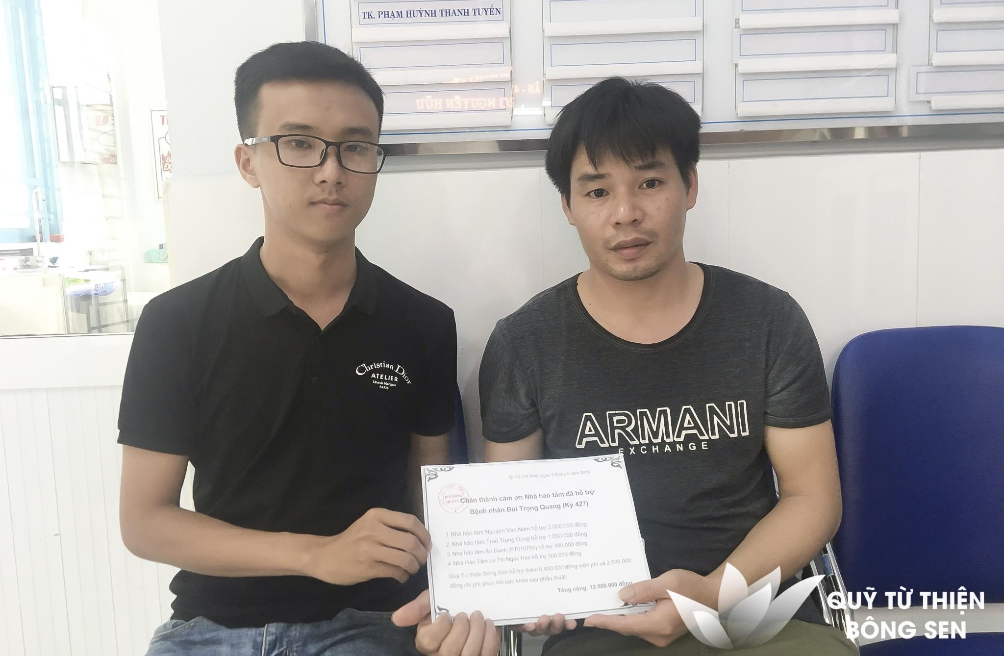 Kỳ 427: Bùi Trọng Quang (1 tuổi) quê Thanh Hóa, Tim bẩm sinh, hỗ trợ 12 triệu đồng ngày 8/8/2019